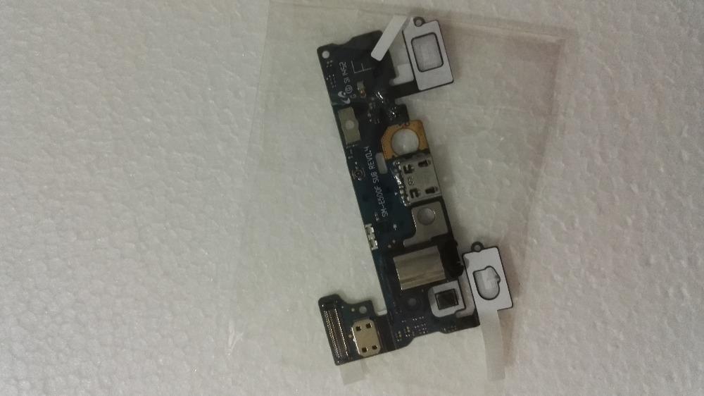 100% Original USB Port Board FPC Charging Flex Cable+Earphone Microphone Sensor For Samsung E5 E500F Free Shipping+Track Code