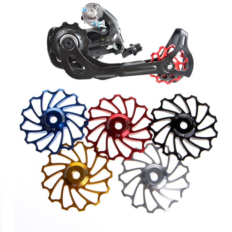 13 T MTB Seramik Rulman Jokey Tekerlek Kasnak Yol Bisiklet Bisiklet Arka Attırıcı