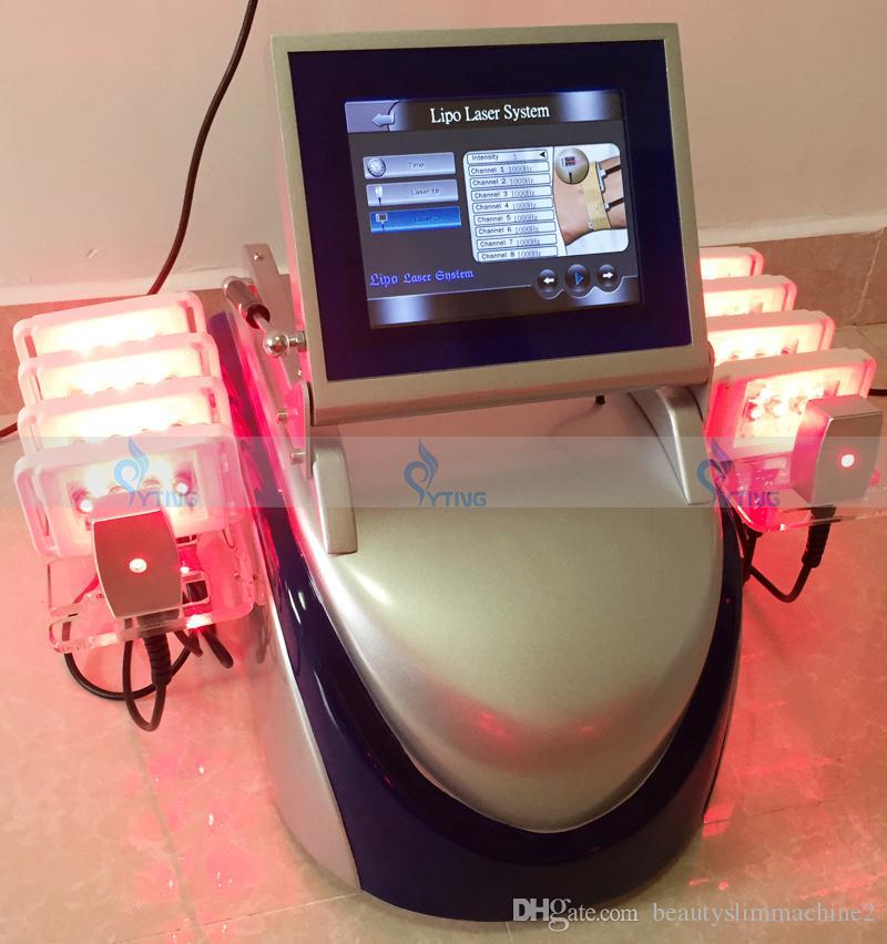 뜨거운 판매 레이저 지방 제거 바디 컨투어링 Lipolysis 슬리밍 기계 지방 제거 무게 손실 셀 룰 라이트 감소 650nm 980nm 시스템