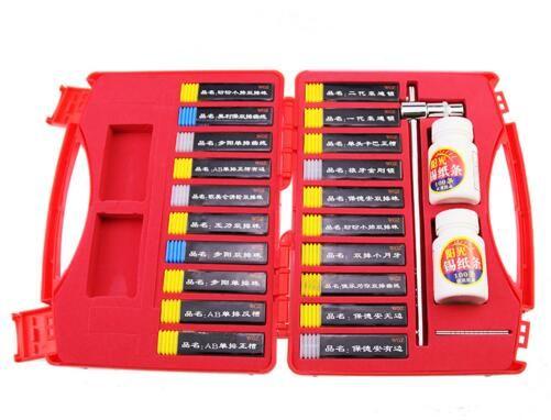 WGZ 20 pz Tinfoil strumento di apertura rapida attrezzi da fabbro NUOVO modello chiavi di alimentazione Kit grimaldelli per serrature per porte di casa Set di apertura rapida