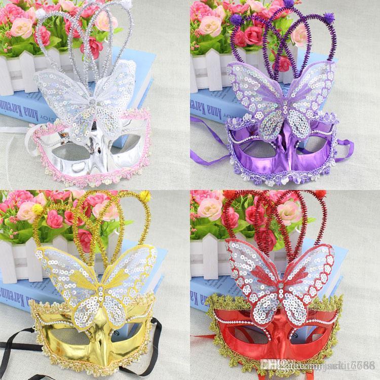trasporto libero Luminoso farfalla pioggia danza spettacoli maschera maschera partito all'ingrosso mercato notturno flash fabbrica vendita diretta del giocattolo