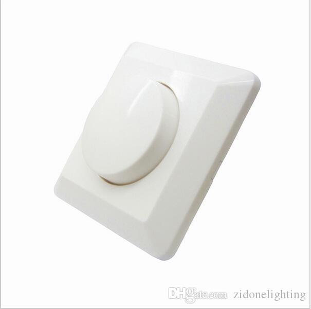 LED SCR EU 조광기 스위치 250W AC 220V-240W 조정 가능한 컨트롤러 LED 조광기 스위치 디 밍이 가능한 패널 조명 Downlight