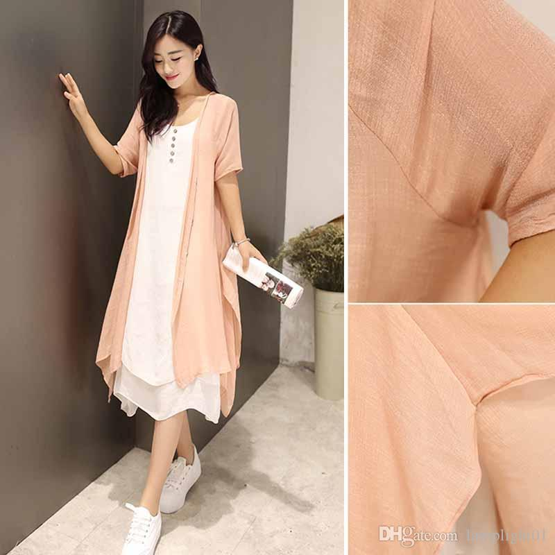 NEW Ladies Quirky Italian Lagenlook Linen Oversize Sleeveless Vest Tunic Top