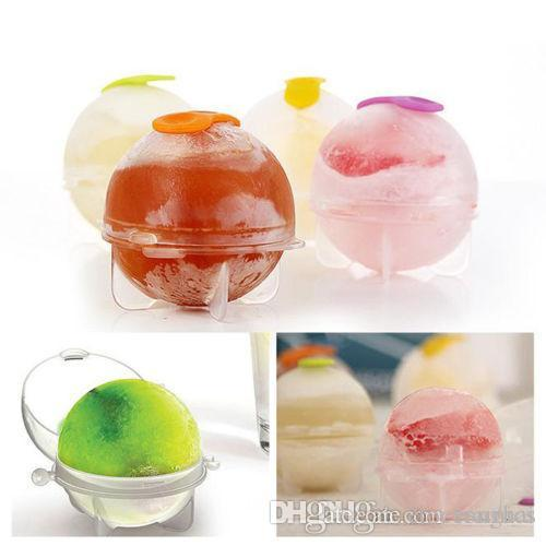 Tijolo de gelo Rodada Esfera Bandeja Cube Party Bar Bola Fabricante De Cozinha Molde Mould H2010225