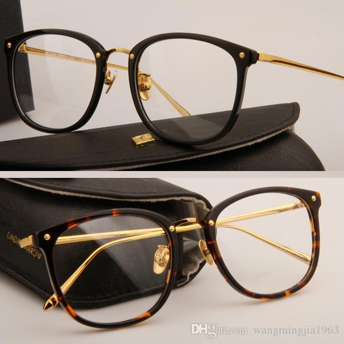 Gafas de sol Monturas LFL222 Montura de tablón Gafas que restauran formas antiguas Gafas de grau Hombres y mujeres Marcos de anteojos de miopía