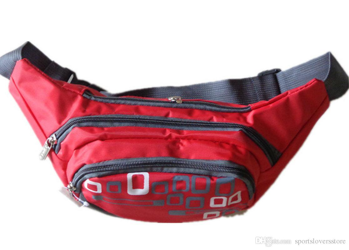 Mode unisexe taille sac de loisirs en plein air sac de voyage sac à main multifonctionnel Fanny Pack poche de passeport