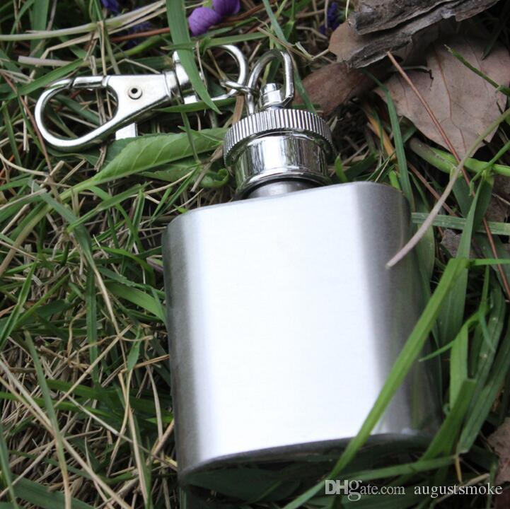 En gros de la mode 1 oz (28 ml) en acier inoxydable flacon hip portable bouteille de vin à emporter ivrogne alcoolique fournitures essentielles
