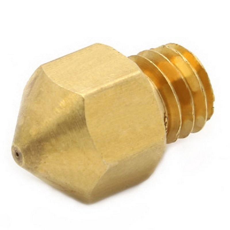 1Pc 0.2mm 0.3mm 0.4mm 0.5mm Copper Extruder Nozzle Print Head for Makerbot MK8 3D Printer B00044