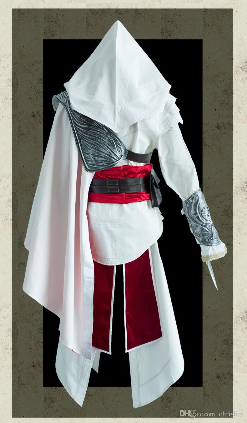 European Ameican Game Assassins Creed Cosplay Ezio Costume Hat