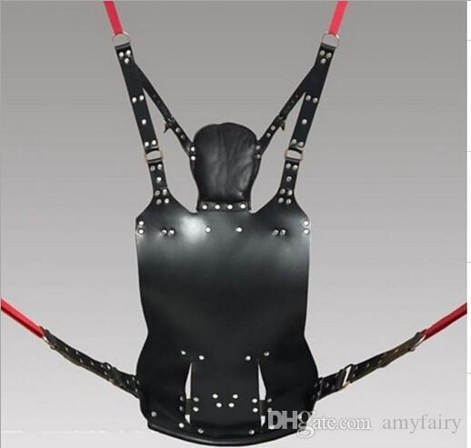 Top Quality Leather Swing Chairs Sex Hammocks Nature Leather Love Sling Bed Pillow Adult Games Sex Toys 451