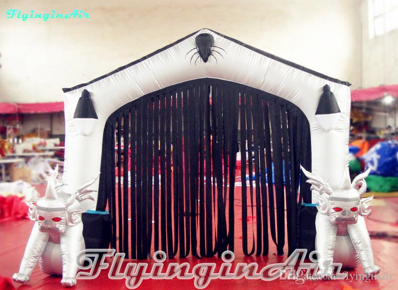 2m Height Inflatable Halloween Arch for Mall Halloween Holiday Decoration