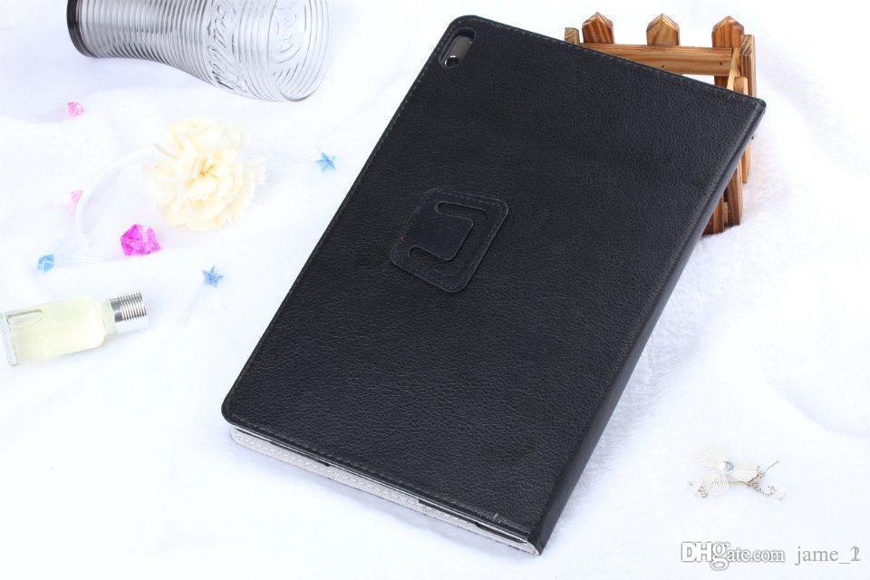 Großhandel Faltenfolio PU Ledertasche für Lenovo A7600F A7600HV 10,1 Zoll Tablette A7600 Holster Ständer Abdeckung Magnetische Tasche