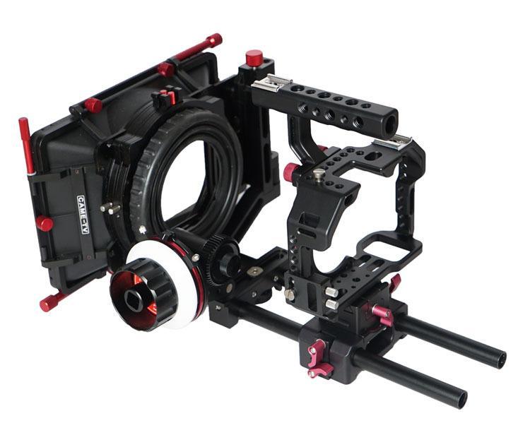 Plataformas A7S W / Mattebox de CAME-TV S ony Siga la plataforma Dslr de Focus Camera