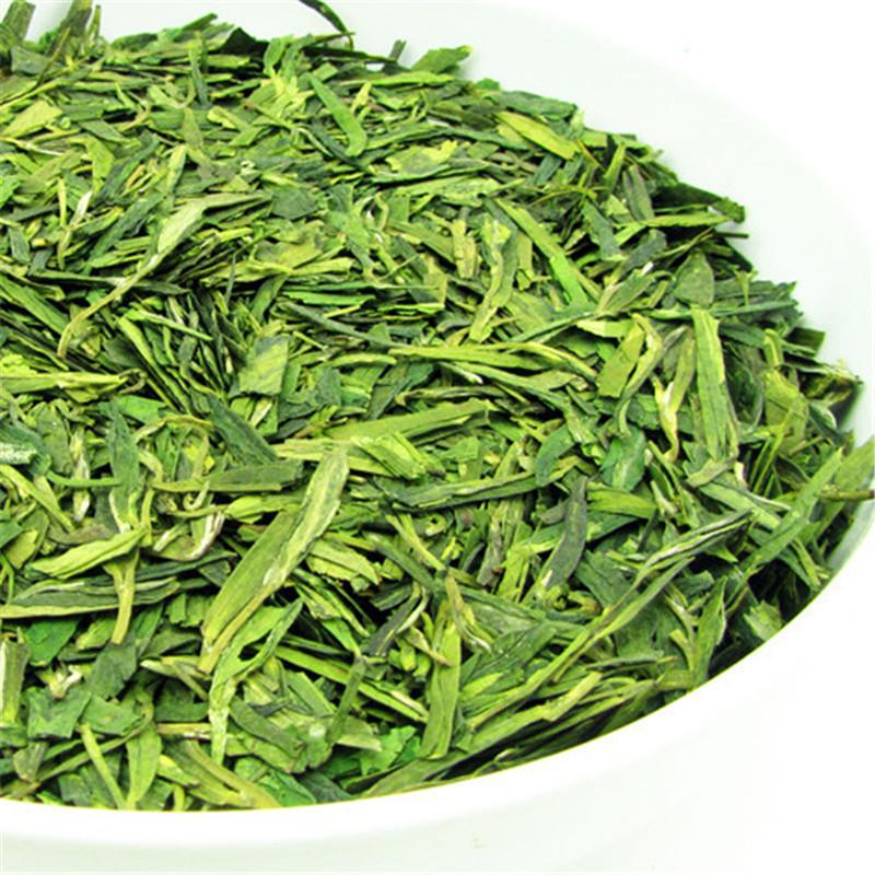 250g Çin Organik Yeşil çay West Lake Longjing Dragon Şey Ham Çay Yeni Bahar Çay Yeşil Gıda Tercih