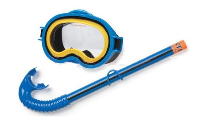 Intex Adventurer Kids Natation / Masque de plongée Masque Snorkel Set 55942