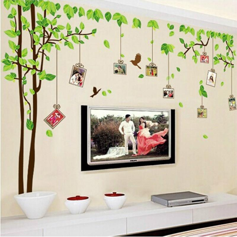 ... A Removable Dining Room Bedroom TV Wall Decoration Of Yi Lin Photo Wall  Stickers Home Decor ...