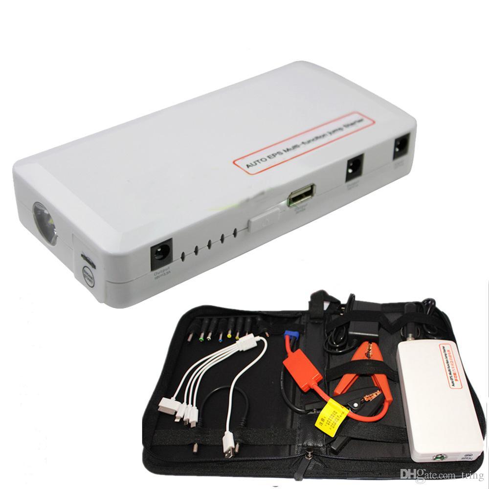 새로운 스마트 미니 18000mAh 다기능 점프 스타터 자동차 비상 시동 자동차 시작 휴대 전화 태블릿 PC 충전 충전식 배터리