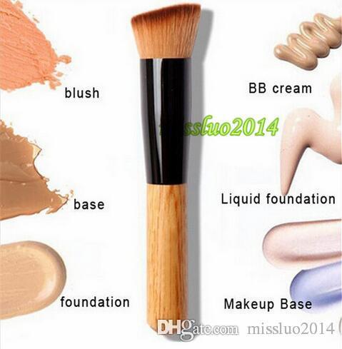 Multi-Função Pro Pincéis de Maquiagem Em Pó Corretivo Blush Líquido Fundação Make up Brush Set De Madeira Escova Kabuki Cosméticos 800 pçs / lote