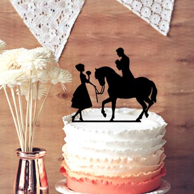 Christmas Wedding Cake Toppers.Unique Wedding Cake Toppers Flowers Bride Hold Flowers And Groom With Horse Wedding Cake Topper Silhouette Car Wedding Decoration Christmas Wedding