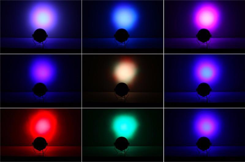 LED Par RGBW DMX512 Disco Lamp stage light10