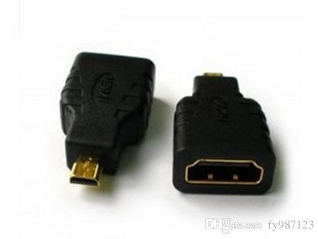 Hot sale HDMI Female to Micro HDMI male Adapter Plug Connector HDMI a Female to D Male Adapter for Tablet phone to HD TV