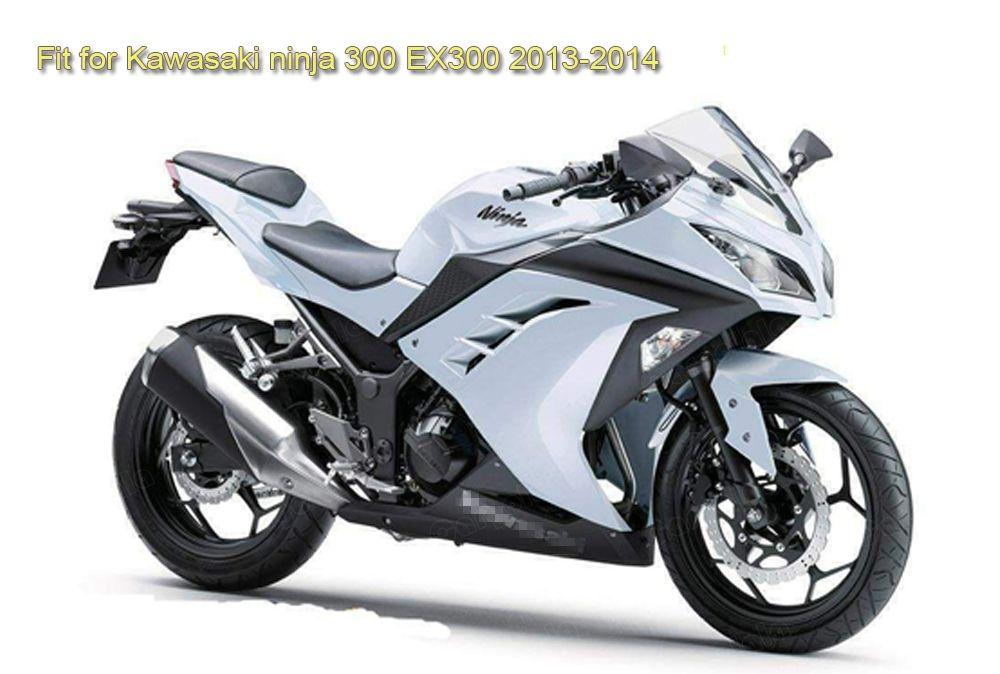 Windshield WindScreen Double Bubble For Kawasaki Ninja 300 EX300R 2013 2014 2015 2016 2017