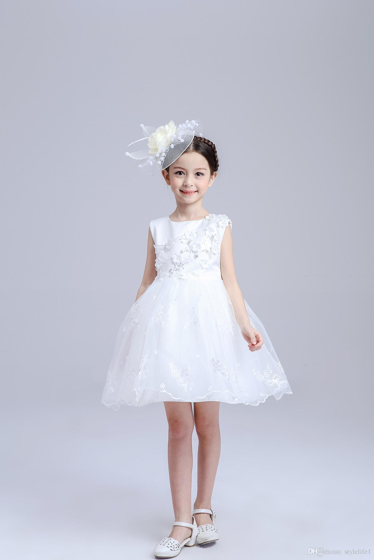 Korean children clothing princess bridesmaid flower girl dresses korean children clothing princess bridesmaid flower girl dresses wedding party dresses baby girl lace dress for ombrellifo Gallery