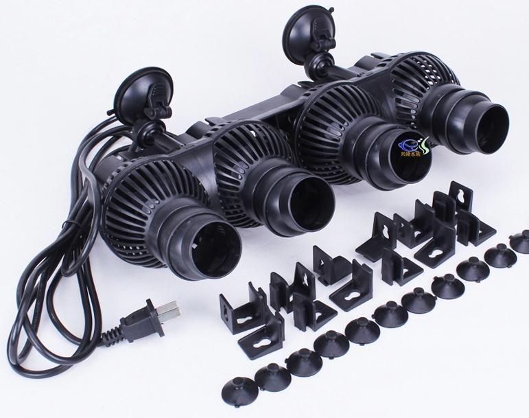 SunSun JVP-402 48W 24000L / H Grote Aquarium Aquarium Wave Maker Waterpomp WaveMaker Powerhead Circulation Pumps W / Zuig / Magneet Case
