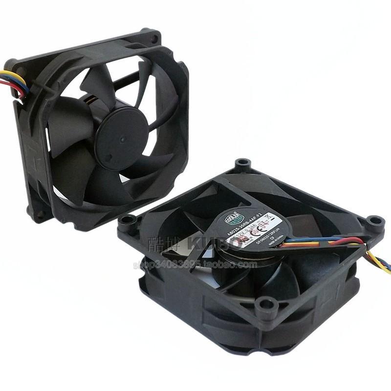 Nuevo Original Cooler Master A8025-35RB-4AP-F2 DC12V 0.34A 80 * 80 * 25M 8cm ventilador de 4 líneas PWM control de temperatura CPU ventilador de enfriamiento