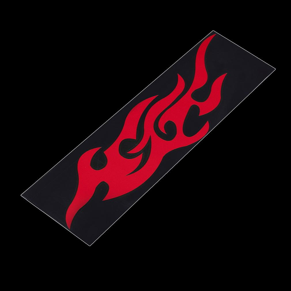 Car sticker design fire - Universal Car Sticker Styling Engine Hood Motorcycle Decal Decor Mural Vinyl Covers Accessories Auto Flame Fire