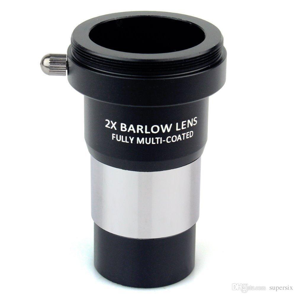 """Datyson 1.25 """"Lente 2x Barlow Metal totalmente multicapa con interfaz de conexión de cámara de rosca M42x0.75 para oculares telescópicos"""