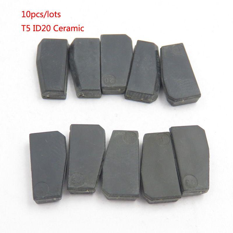 Car Key Chip T5 (ID20) Ceramic for Car Key Locksmith Tool ID T5 Transponder Chip 10PCS/LOTS