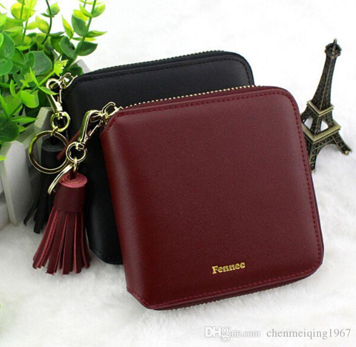 92b40cfdb250 2016 Hot Fennec Wallet Women Purse Genuine Leather Lady Wallets Mini Small  Luxury Designer Wallet Famous Brand Fennec Coin Purse Girls Wallet Rodeo ...