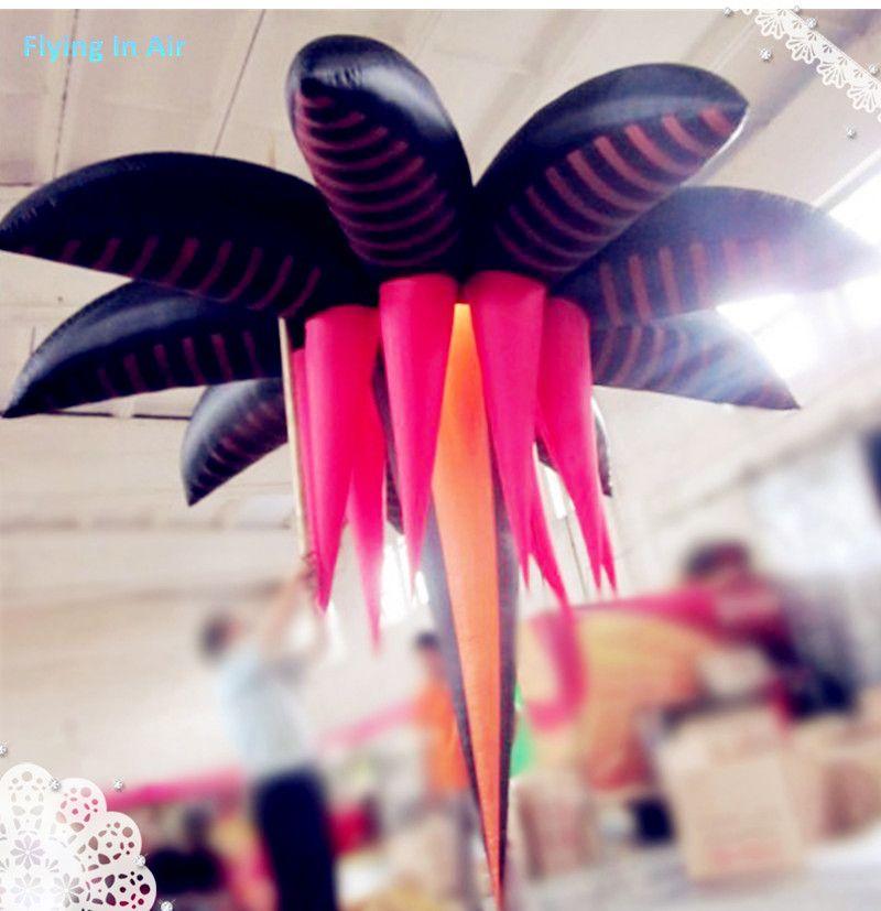Partido feito sob encomenda da cor 2m / flor inflável especial exterior para a decoração
