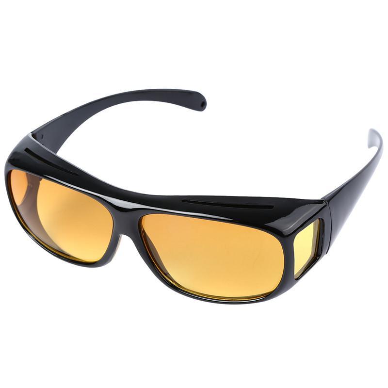 유니섹스 나이트 비전 운전 안경 안전 눈부심 사이클링 선글라스 남자 여자 UV 400 보호 안경 oculos ciclismo