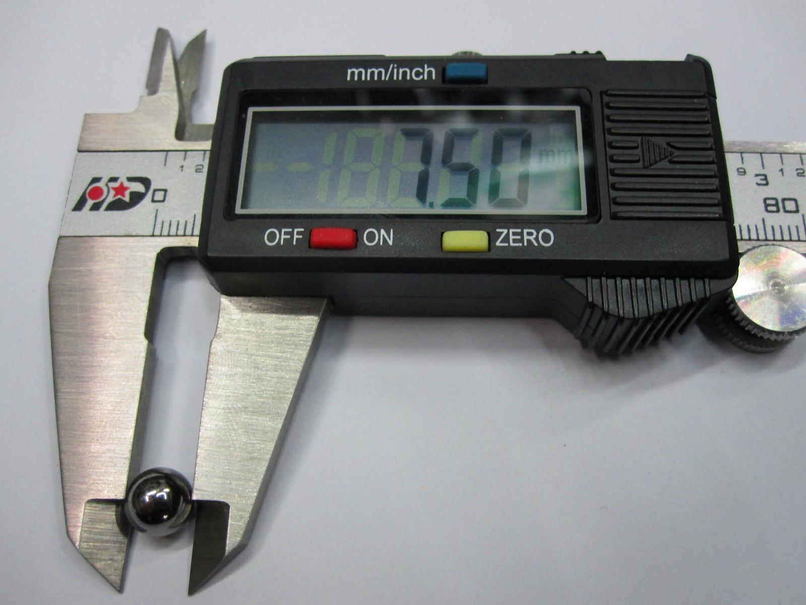 Diámetro de la bola de acero de la bola del rodamiento de bolitas de acero del cromo de los 7.5MM 7.5mm 10pcs / set precisión: G10-grado