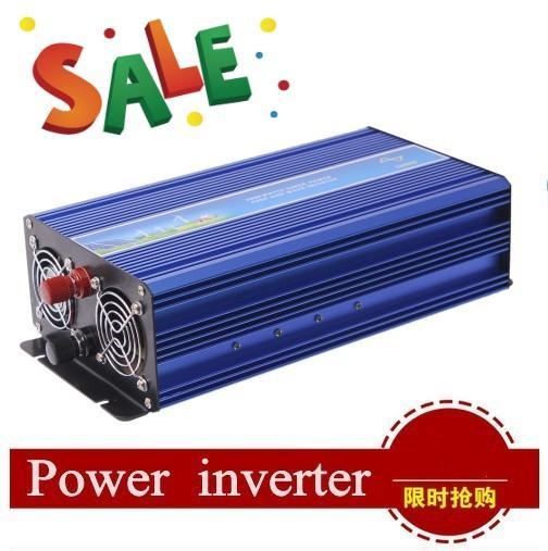 Скидка для Promation - самая низкая цена - это ворота DH !!! DHLfree доставка 2000 Вт чистая синусоидальная инвертор питания DC12V / 24V / 48V для инвертора питания переменного тока