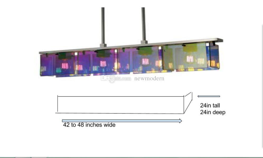 AC / DC LED-Quelle 100% mundgeblasenes Borosilikatglas Dale Chihuly Murano Art Customized Big Chandelier