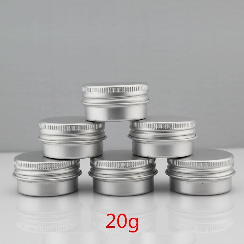50 teile / los 20G Aluminiumglas 20 ml metall Kosmetische Verpackung Container professionelle kosmetik container