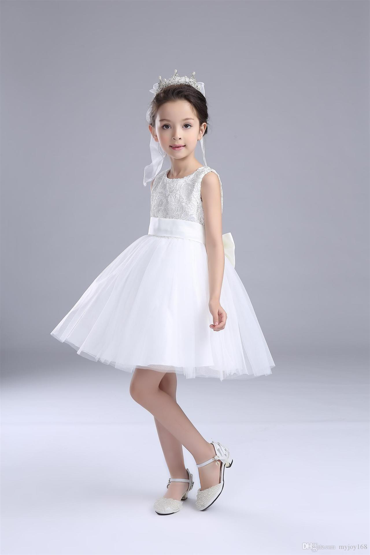 Beautiful Baby Girl Lace Dresses Flower Girl Dresses Wedding Party