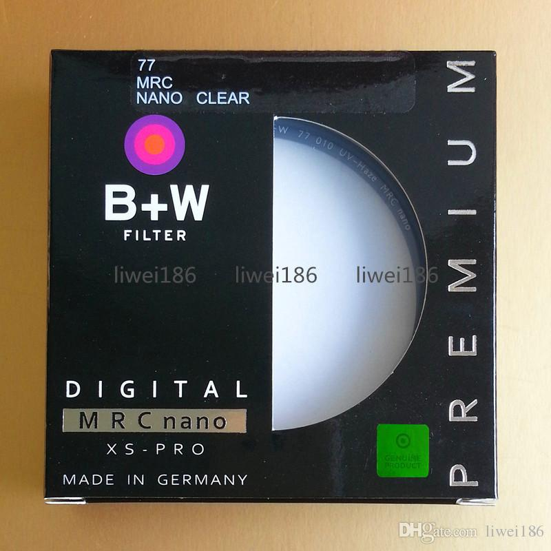 B+W 77mm XS-Pro Clear UV Haze with Multi-Resistant Nano Coating 010M