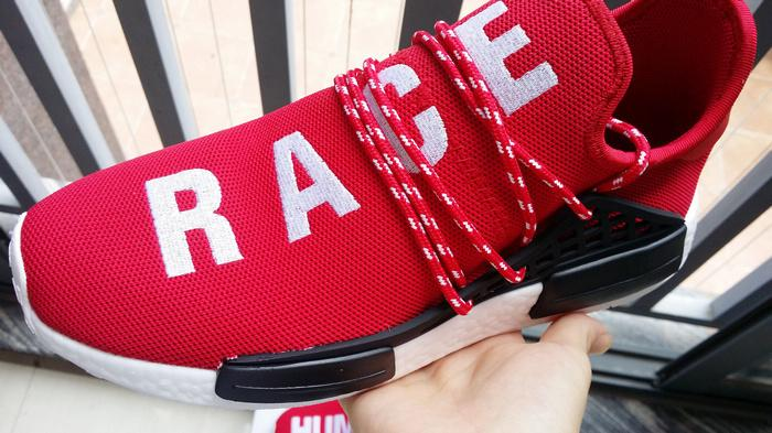 First Look Adidas x Pharrell NMD Human Race Red BB0616 with