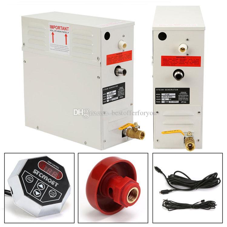 Brand New 6 KW Steam Generator Shower 220V Sauna Bath Home Spa ST series steam generator