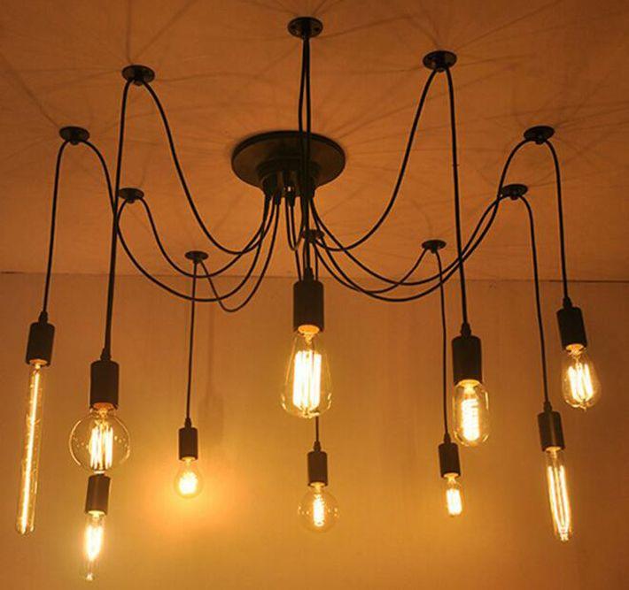 로비 식사 거실 침실 레스토랑 다락방 천장 조명 케이블 코드 소켓 교수형 램프 홀더 펜던트 램프