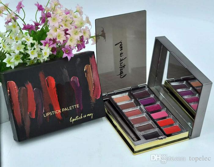 New arrival VICE Lipstick Palette Blackmail 12 Colors Lip Gloss Palette Highest Quality Free shipping dhgate vip seller
