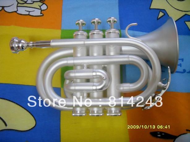 Hohe Qualität Bb Taschentrompete Aussehen Spielen Hanf Silber Bb Taschentrompete Professionelle Musikinstrument Taschentrompete