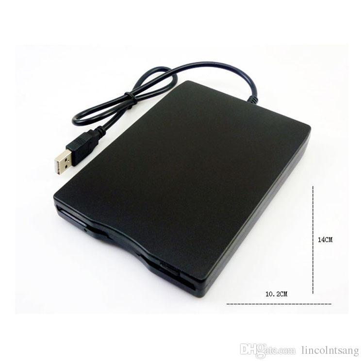 """Toptan 50 adet / grup Sıcak 1.44 Mb 3.5 """"Laptop için USB Harici Taşınabilir Disket Sürücü Disketi FDD"""