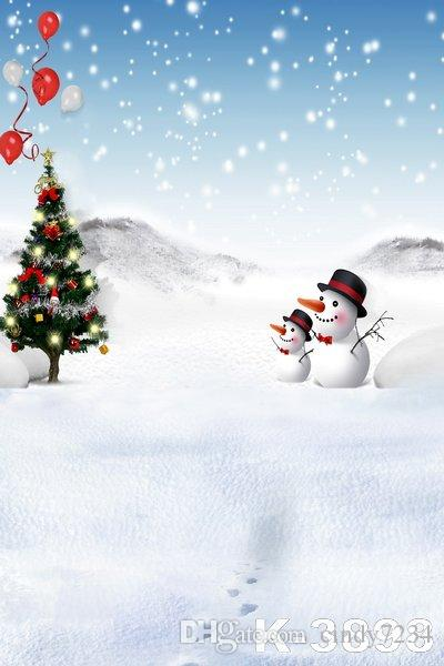 wholesale spray christmas theme prop snowman background scenic backdrop for wedding backgrounds computer printed photos vinyl
