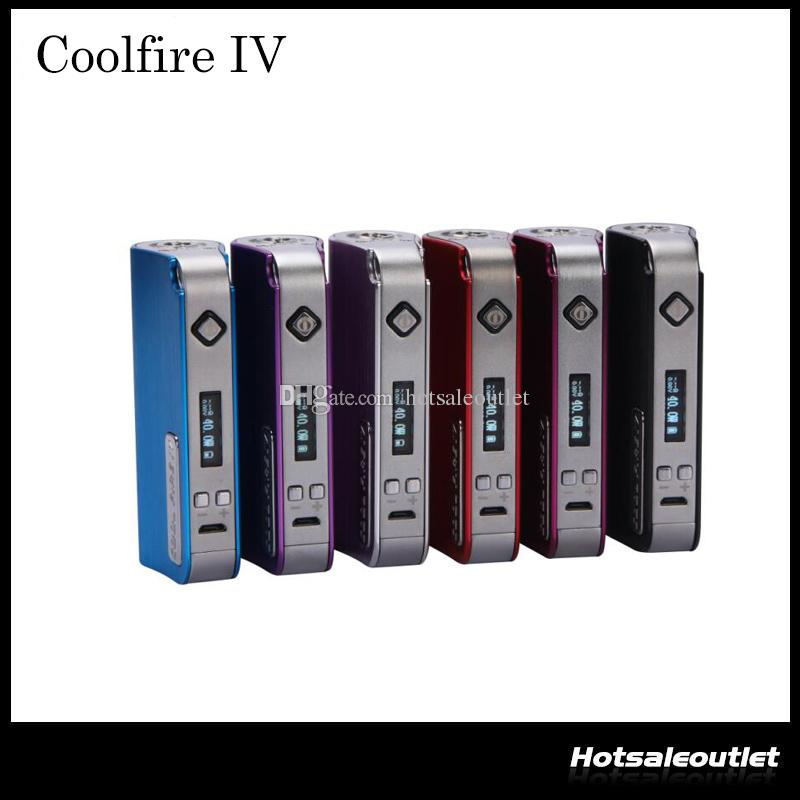 2015 Innokin CoolFire IV 40W Battery Mod Cool Fire IV Express Kit 2000mah Innokin Coolfire 4 With OLED Screen 100% Authentic