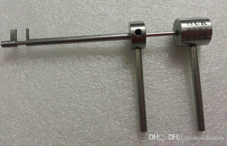Serrurier à ouverture rapide HUK Flagpole Outils de verrouillage de lame de type universel avec 100% d'outils de sélection de taux de verrouillage ouvert